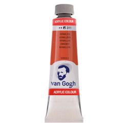 Ακρυλικό χρώμα ζωγραφικής VAN GOGH 40ml VERMILION 311
