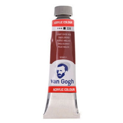 VAN GOGH LIGHT OXIDE RED 339