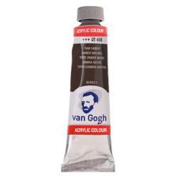 Ακρυλικό χρώμα ζωγραφικής VAN GOGH RAW UMBER 408