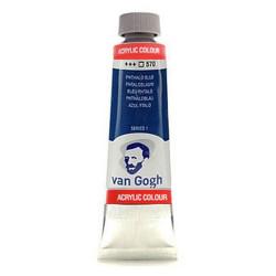 Ακρυλικό χρώμα ζωγραφικής VAN GOGH PHTHALO BLUE 570