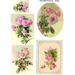 Decoupage soft paper 0006