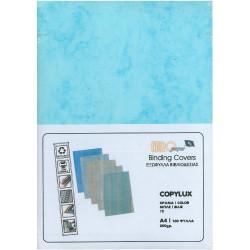 Χαρτονάκι Α4 COPYLUX MARBLE 200gr ΜΠΛΕ