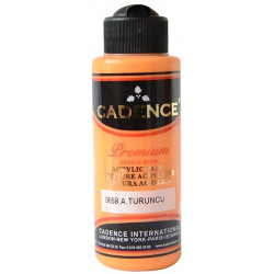 Acrylic paint color CADENCE LIGHT ORANGE 0858