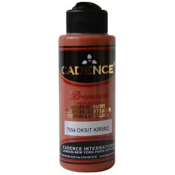 Acrylic paint paint CADENCE OXIDE RED 7554
