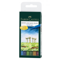 Pitt LANDSCAPE FABER CASTELL Painting Markers 167105