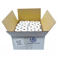 Paper tape 28x50 thermal box with 60 rolls