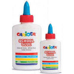 Glue CARIOCA SCHOOL CLUE WHITE 250gr