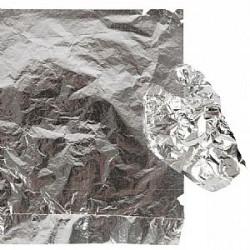 Φύλλα ασήμι ιμιτασιόν πακέτο 100 φύλλων