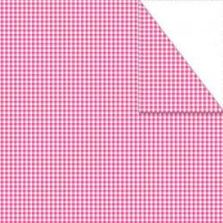 Χαρτόνι καρό mini διπλής όψης 50x70 γαλάζιο