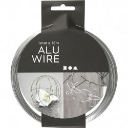 Aluminum wire 1mmx16m 518315