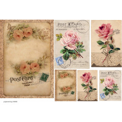 Decoupage soft paper 0065