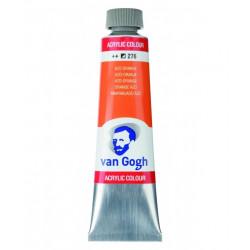 Ακρυλικό χρώμα ζωγραφικής VAN GOGH AZO ORANGE 276