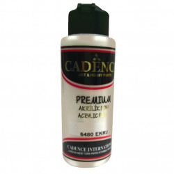 Acrylic paint color CADENCE ECRU 6480
