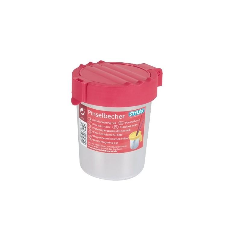 Ποτήρι καθαρισμού πινέλων STYLEX 28960