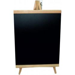 Πίνακας κιμωλίας με καβαλέτο 28x16cm