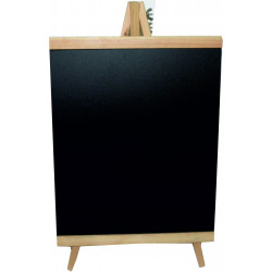 Chalk board with easel 38x25cm