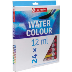 TALENS WATERCOLOUR 24x12 ml