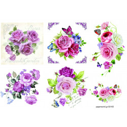 Decoupage soft paper 0165