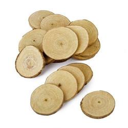 Wood slices 2-6cm diameter,...