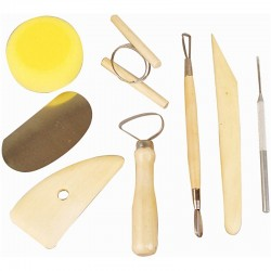Ceramic tools set of 8 pieces