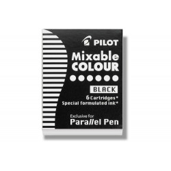 Αμπούλες PILOT PARALLEL PEN BLACK
