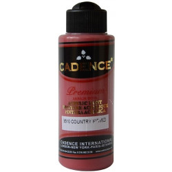Acrylic painting color CADENCE COUNTRY RED 9510