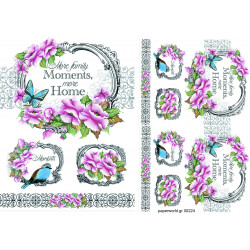 Decoupage soft paper 0224