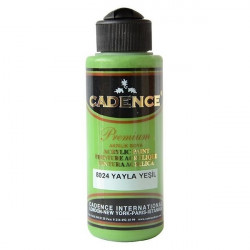 Acrylic paint color CADENCE PLATEAU GREEN 8024