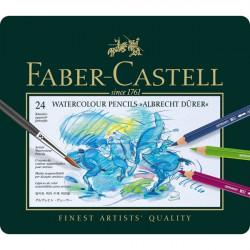 Ξυλομπογιές ακουαρέλας FABER-CASTELL σετ 24 τεμαχίων 117524.