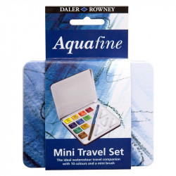 Ακουαρέλες DALER-ROWNEY  AGUAFINE TRAVEL SET  131.900.030