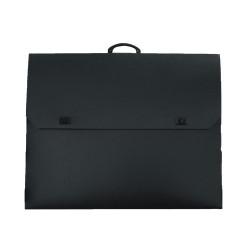 Plastic black design bag...