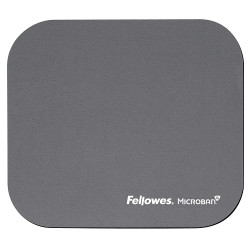 MOUSE PAD FELLOWES SILVER