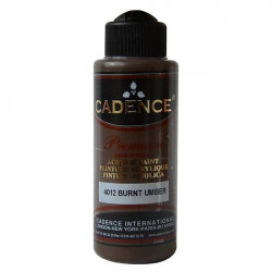 Acrylic Paint Color CADENCE BURNT UMBER 4012