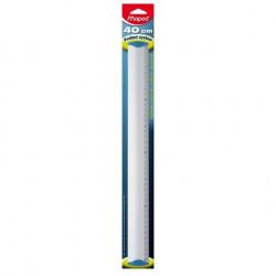 Aluminum MAPED ruler 40cm