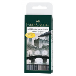 Painting markers FABER CASTELL SHADES OF GREY 167104