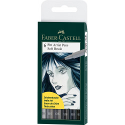 Painting markers FABER CASTELL SOFT BRUSH SET 167806