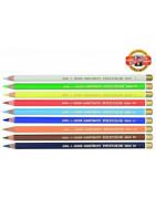 Painting pencils individually