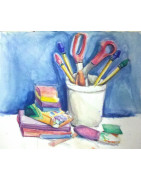 Children's painting and handicraft materials