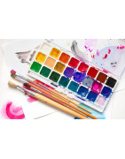 Temperas - Watercolors - Finger Paints