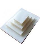 Plasticing matte sheets